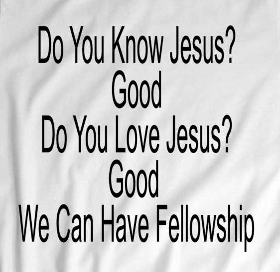Love Jesus, Up Close