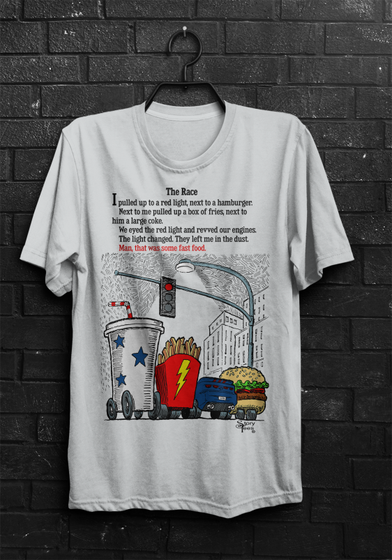 Story Tees - The Race
