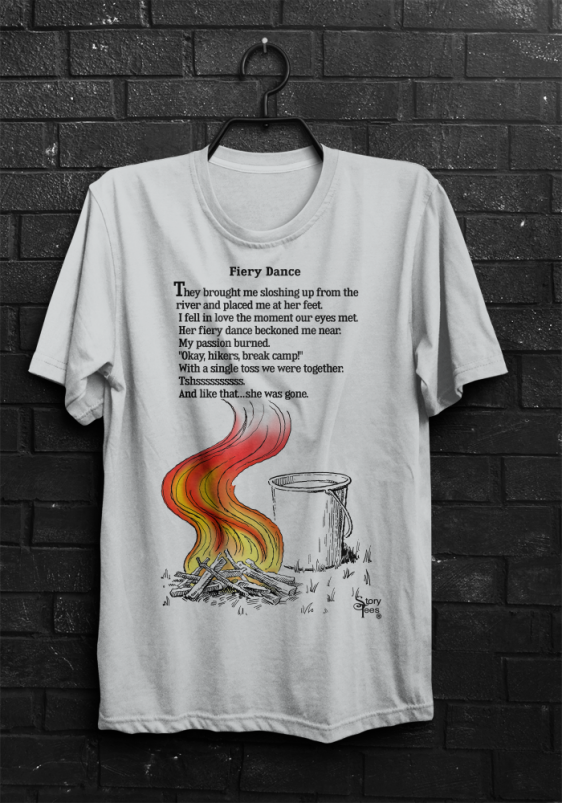 Story Tees - Fiery Dance