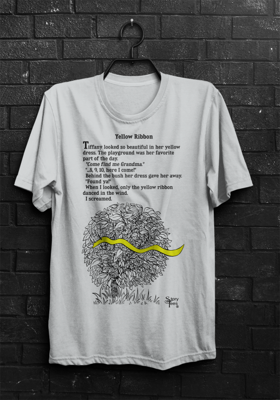 Story Tees - Yellow Ribbon