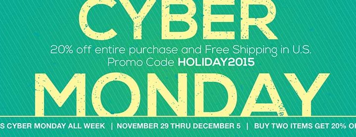 Cyber Monday Sale – All Week